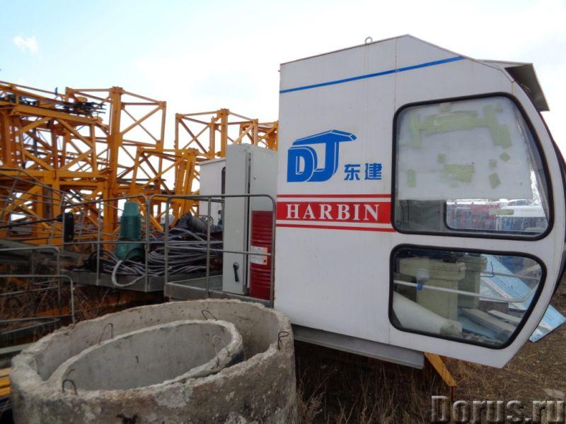 Башенный кран Dongjian QTZ80 Б/У - Сельхоз и спецтехника - Башенный кран Dongjian QTZ80 высота 55 ме..., фото 2