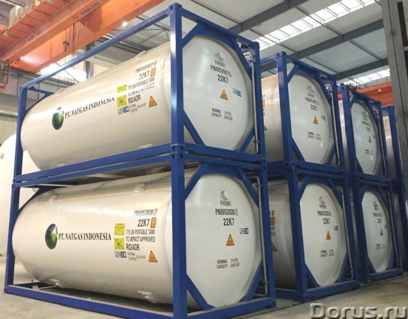 Криогенный танк-контейнер Т75 20500л для кислорода, аргона, азота, НОВЫЙ - Промышленное оборудование..., фото 6