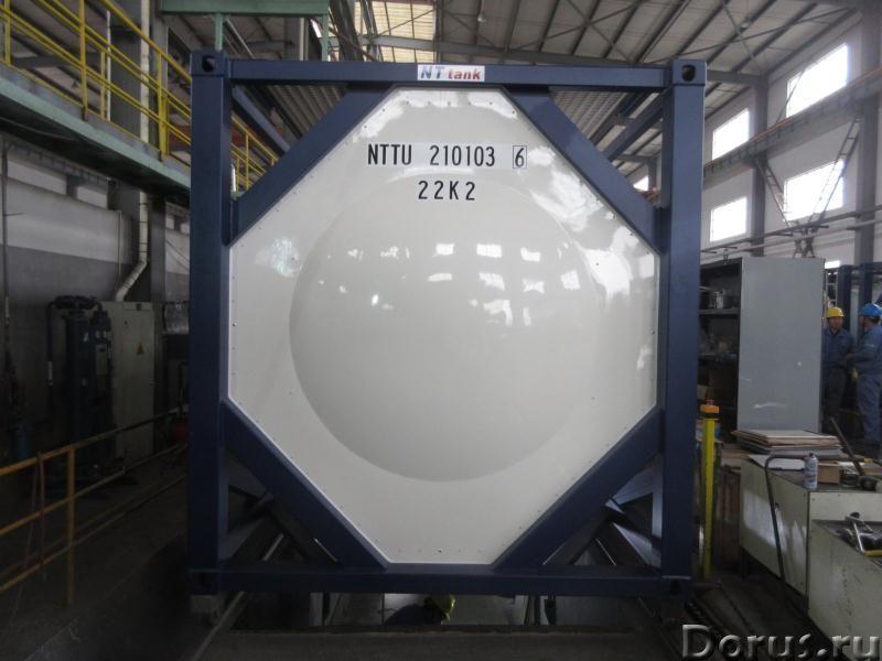 Танк-контейнер тип Т14 объём 25м3 с термоизоляцией и обгревом для перевозки серной кислоты, новый -..., фото 4