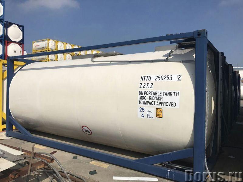 Танк-контейнер тип Т11 объём 21000 литров, для перевозки и хранения пищевых наливных продуктов,новый..., фото 2