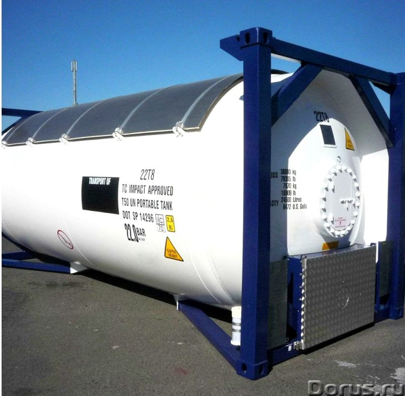Танк-контейнер тип Т50 объём 24800 литров, для перевозки и хранения СУГ, НОВЫЙ - Промышленное оборуд..., фото 2