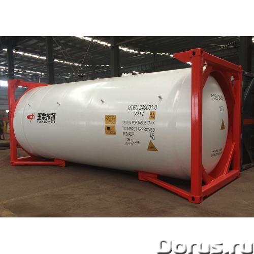 Танк-контейнер тип Т50 объём 24800 литров, для перевозки и хранения СУГ, НОВЫЙ - Промышленное оборуд..., фото 7