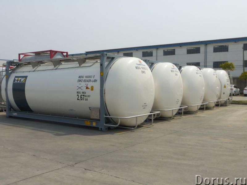 Танк-контейнер модель Т11 SWAP объём 35000 литров, для перевозки жидкостей, новый - Промышленное обо..., фото 4