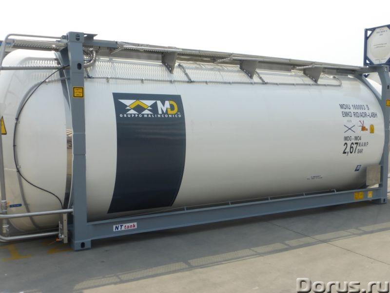 Танк-контейнер модель Т11 SWAP объём 35000 литров, для перевозки жидкостей, новый - Промышленное обо..., фото 6