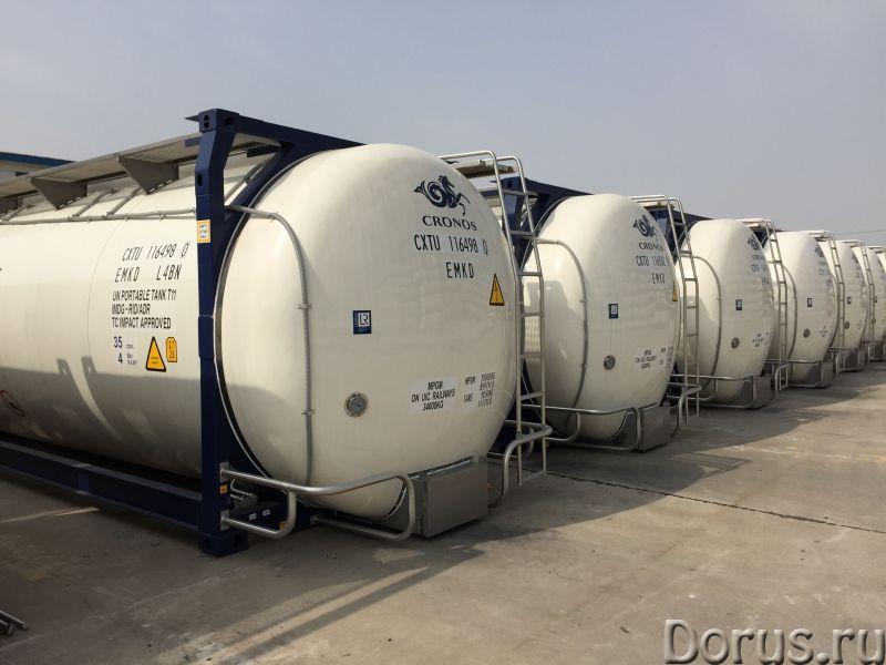 Танк-контейнер модель Т11 SWAP объём 35000 литров, для перевозки жидкостей, новый - Промышленное обо..., фото 7