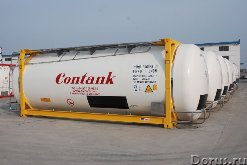 Танк-контейнер модель Т11 SWAP объём 35000 литров, для перевозки жидкостей, новый - Промышленное обо..., фото 8