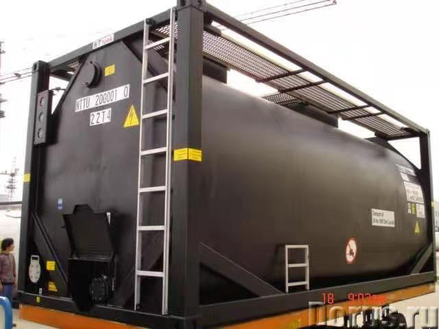 Танк-контейнер тип Т3 объём 24000 л., для перевозки и временного хранения мазута, битума, новый - Пр..., фото 1